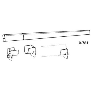 Graber Drapery Hardware Traverse Sheer Rod Kit 28 48