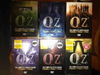 HBOs OZ The Complete TV Series 1 6 DVD