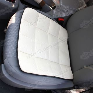 Bamboo Charcoal Auto Car Office Chair Seat Cover Chair Pad Mat Beige