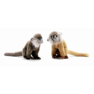 Hansa 7 Brown Leaf Monkey Plush Stuffed Animal Toy