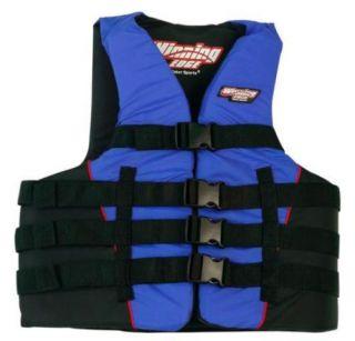 New Life Vest Water Flotation Ski Boarding x XL 2XL 3XL