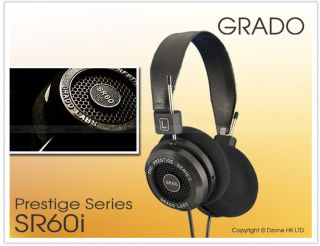 Grado Labs SR60I Prestige Series Audiophile Headphones