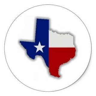 20 Texas State Flag stickers hard hat stickers   shipped via UPS with