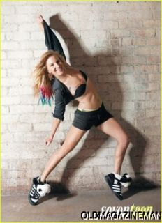 HEATHER MORRIS Seventeen magazine November 2011 Britney from GLEE