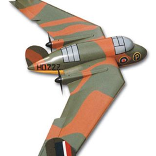 Handley Page HP75 Manx Plan R C Scale Electric Model Aircraft Plan