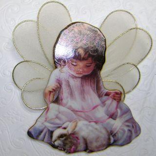 Loving Kindness Dona Brooks Heavens Little Angels Christmas Ornament