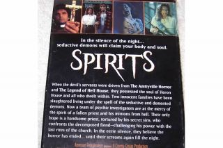 SPIRITS Erik Estrada Robert Quarry Horror Thriller VHS Video
