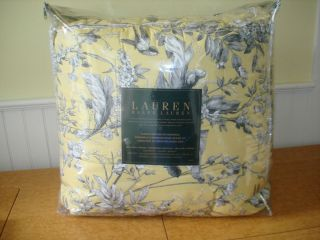 NEW Ralph Lauren Grand Isle 4pc QUEEN comforter bedskirt 2 shams RARE