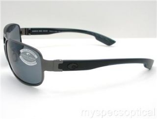 Costa Del Mar Grand Isle GI 22 Gunmetal 580G Grey Polarized 100%