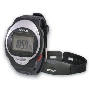 Omron HR 100C Heart Rate Monitor Watch New 2 Day SHIP