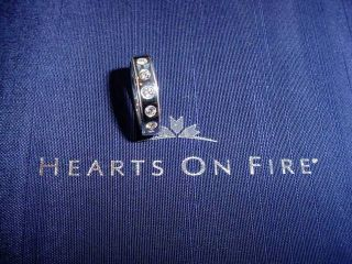 Hearts on Fire Men's Duet 5 Stone Ring