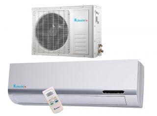 000 Btu Klimaire 13 SEER Ductless Mini split Heat Pump Air conditioner