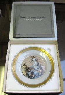 Hans Christian Andersen Plate Little Mermaid RC FM