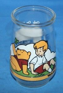 Welchs Jelly Jar Juice Glass Disney Poohs Grand Adventure Best Friend