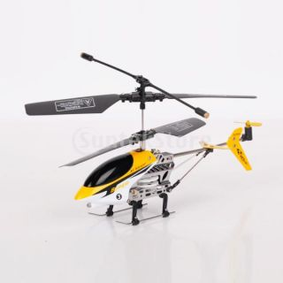 Control Helicopter RC Toy Yellow Cool Toys for Girls Boys