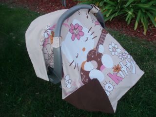 Hello Kitty Baby Infant Car Seat Cover