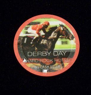 Hard Rock Hotel First Annual Derby Chip DERBY DAY 2005 NEW