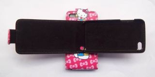 Hello Kitty Lovely Leather Case for iPod Touch 4 New R