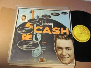 johnny cash with his hot and blue guitar 1220 lp