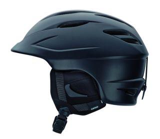 Giro Seam Matte Black Ski Snowboard Helmet Snow Adult