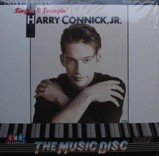 HARRY CONNICK, JR.   SINGIN & SWINGIN Laserdisc