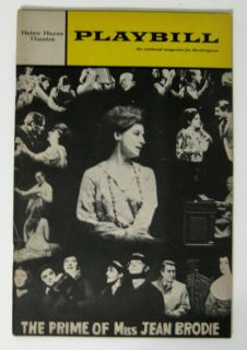 Vintage Playbill Helen Hayes Theatre The Prime of Miss Jean Brodie