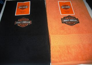 Harley Davidson Towel Bathroom Bedroom Golf Motorcyles Home Decor