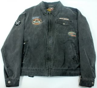 Harley Davidson Motorcycles Motor Clothes An American Legend Jacket XX