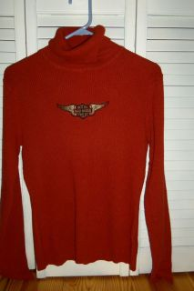 is a Ladies sweater from Harley Davidson apparel   Knit shirt, clothes