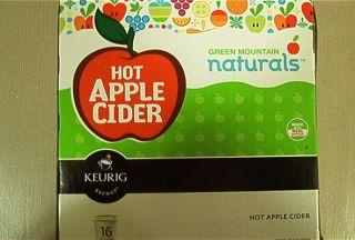 Keurig K Cups Green Mountain Naturals Hot Apple Cider 16 Pack Unopened