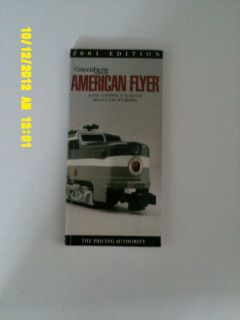 Greenberg Guides American Flyer and Oher s Gauge Manufacurers