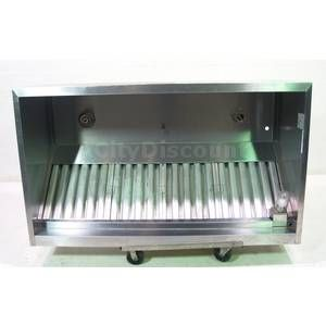 Used Greenheck Ghew 6 00 s 72 Commercial Kitchen Grease Exhaust Hood