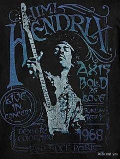 Jimi Hendrix 1968 Blues Rock T Shirt L XL 2XL 3XL 4XL NWT