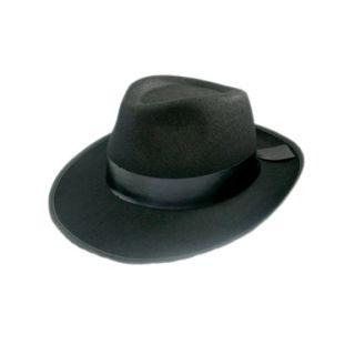 Black Felt Detective Hat Halloween Costumes Accessories