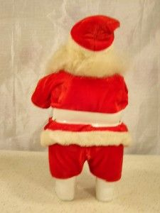 Vintage Harold Gale 10 Santa Claus Classic Christmas Decor Display