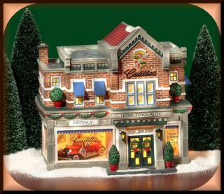 Hensley Cadillac Buick NEW Department Dept. 56 Christmas In The City