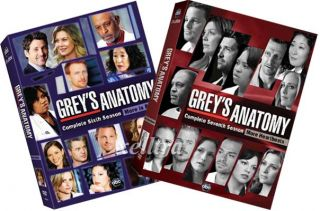 New Greys Anatomy The Complete Seasons 6 7