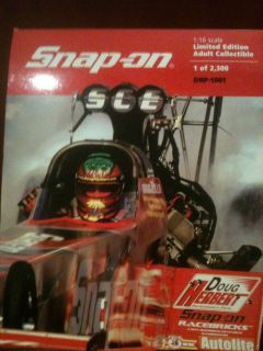 DOUG HERBERTS SNAP ON TOP FULE DRAGSTER 1:16 SCALE DIE CAST