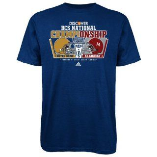 NCAA Alabama Crimson Tide 2012 BCS National Championship River Boat T