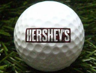 ncaa final four 2002 atlanta hershey s double logo golf ball pinnacle