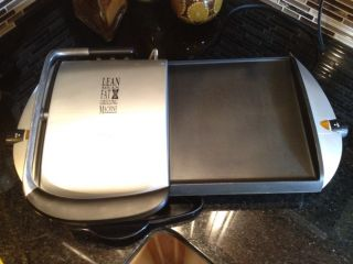 Foreman GF20G Combo Indoor Electric Grill Griddle Panini Maker