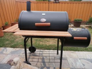 Char Griller Smokin Pro Texas Style Wood Charcoal Smoker Grill
