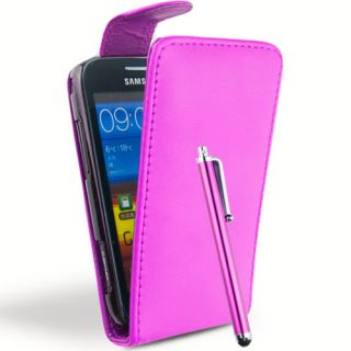 Leather Flip Case Cover for Samsung Galaxy s S2 S3 Ace Ace 2 Y Screen