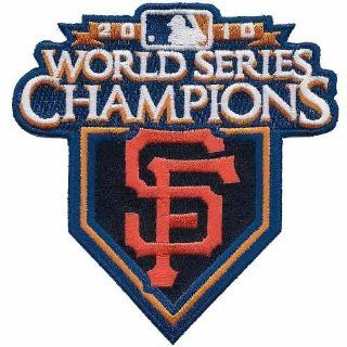 2010 San Francisco Giants World Series Champions Patch