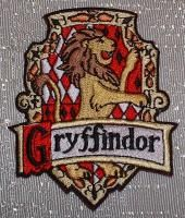 Harry Potter Gryffindor Embroidered Chest Logo Patch
