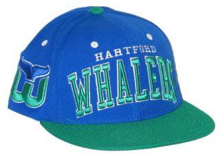 Hartford Whalers Vintage Super Star Snapback Hat Cap