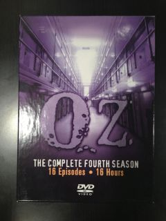 Oz   The Complete Fourth Season (DVD, 3 Disc Set)   Used   HBO