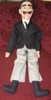 Vintage Eegee Groucho Marx Ventriloquist Doll Dummy 30 by Goldberger