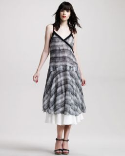 10 Crosby Derek Lam Ikat Print Dress