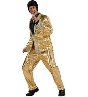 Elvis Grand Heritage Gold Suit Costume Adult Medium